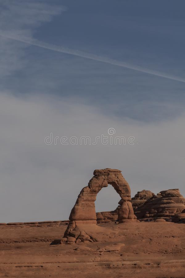 Voûtes, parc national, Utah Etats-Unis image stock