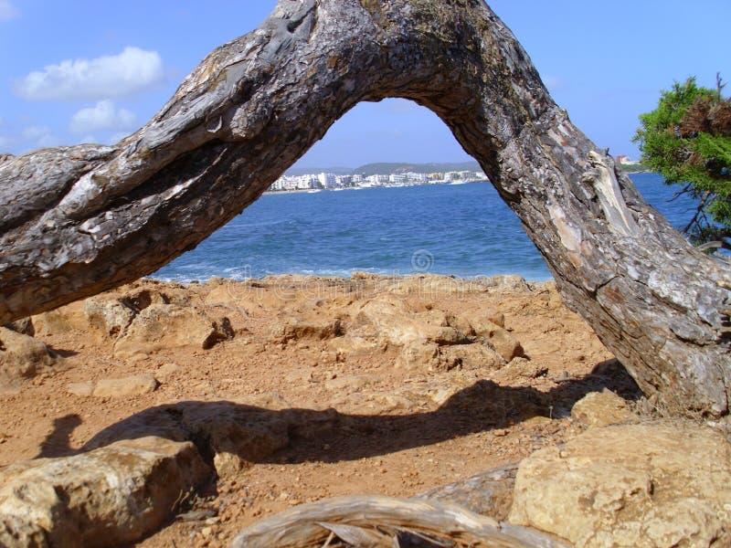 Voûte d'Ibiza photo stock