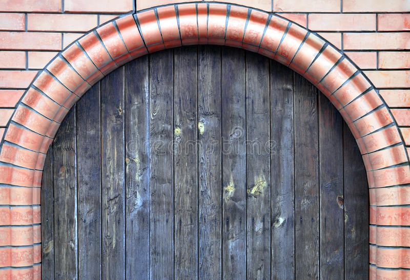 Voûte de brique photos stock