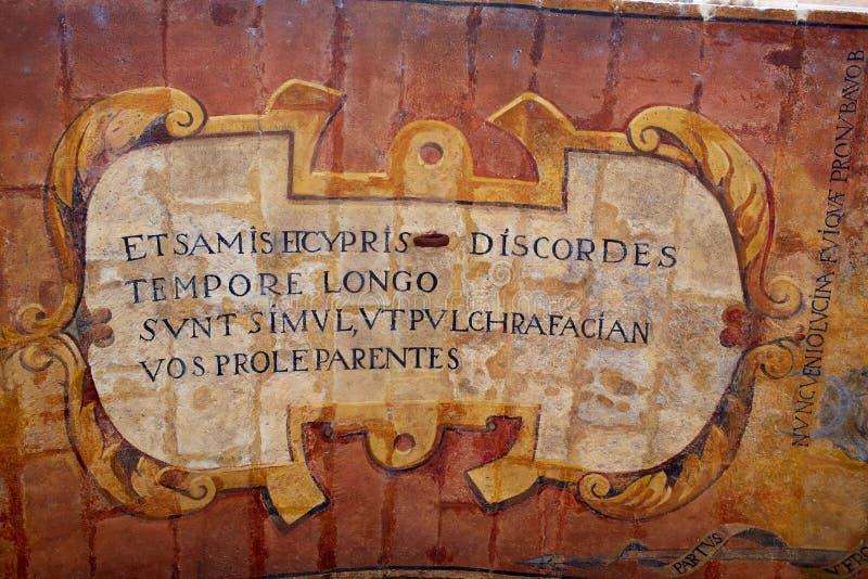 Voûte de Burgos Arco De Santa Maria chez la Castille Espagne images stock