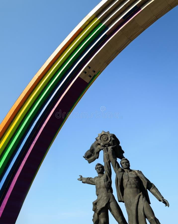 Vo?te de diversit? dans Kyiv images stock