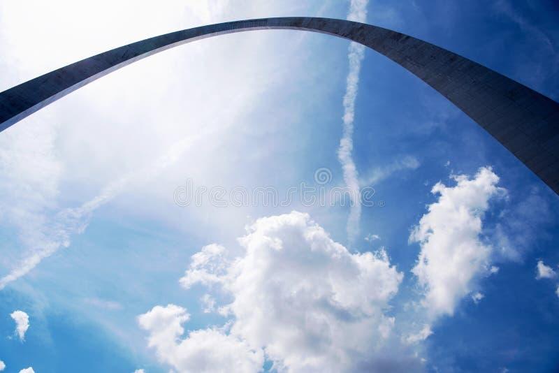 Voûte de Gateway, St Louis photos libres de droits