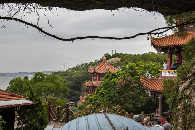 Voûte de Matsu Temple photographie stock libre de droits