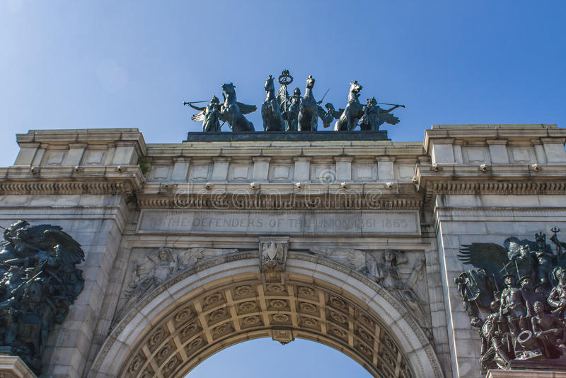 Voûte de soldats et de marins à Brooklyn, New York City photo libre de droits