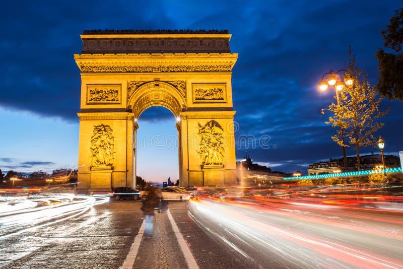 Voûte de Triumph, Paris photos stock