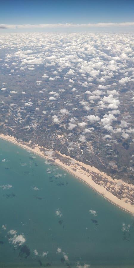 Voando e conhecendo Recife II fotografia de stock royalty free