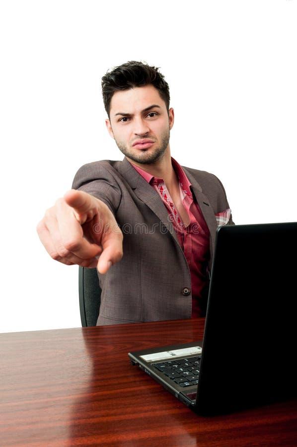 Você é despedido! foto de stock royalty free