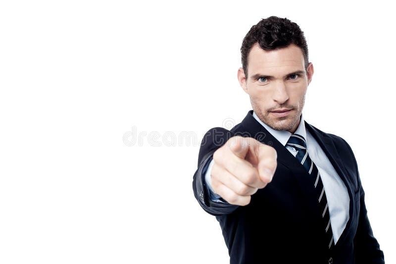 Você é despedido! fotografia de stock royalty free