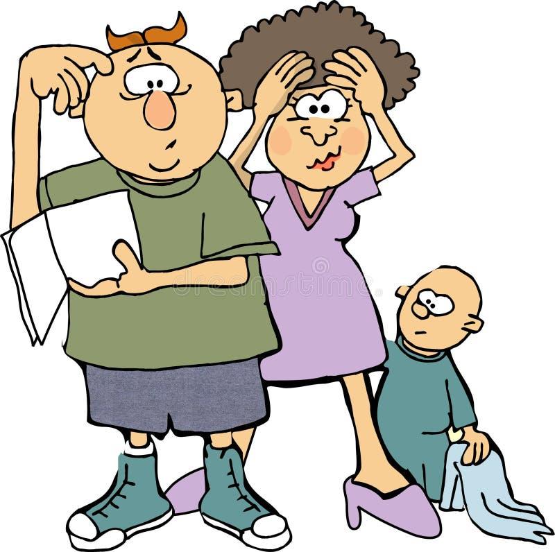 Download Você Médio Não Veio Com Os Proprietários Manuais? Ilustração Stock - Ilustração de crianças, fêmea: 60565