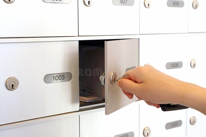 Você obteve o correio imagem de stock