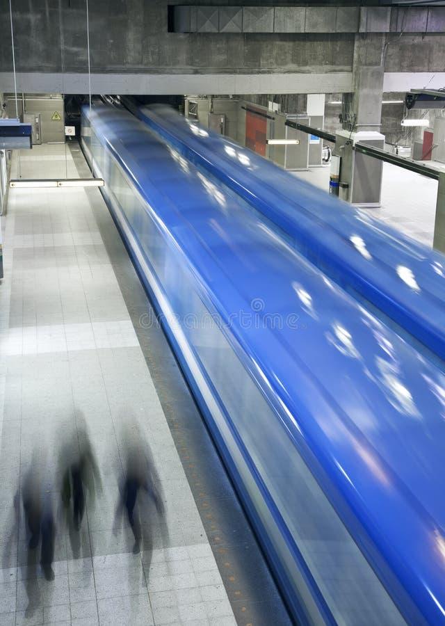 Metro de Montreal fotos de stock