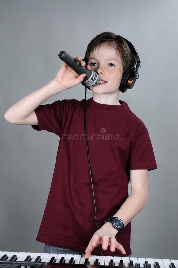 Vocalist immagine stock