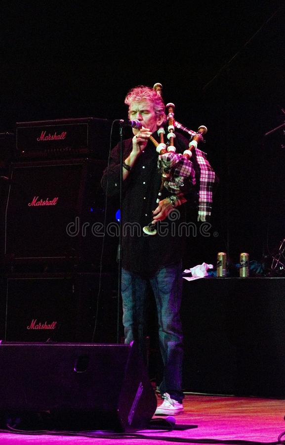 Download Vocalist Dan Mccafferty Playing Bagpipes Editorial Photo - Image: 11695101