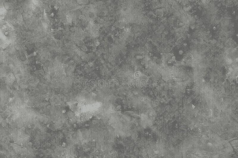 Vochtige textuur van een oude concrete vloer op een terras stock illustratie