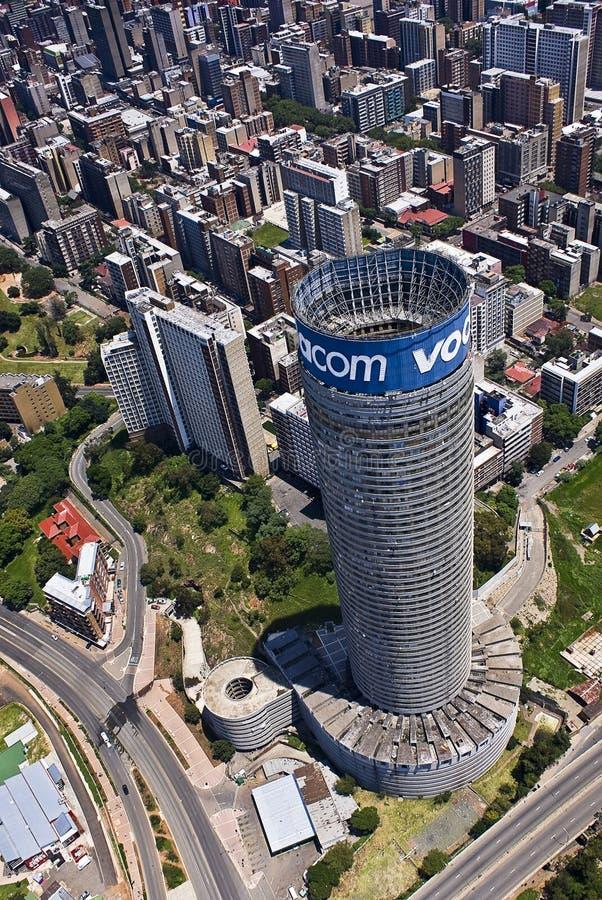 Vodacom Ponte - Blue Vodacom Signage