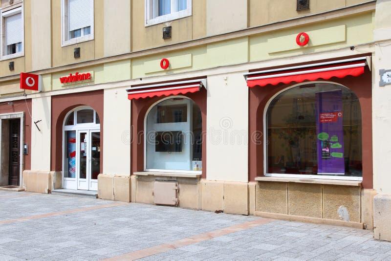 Vodafone zdjęcie stock