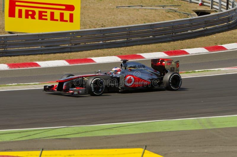 Vodafone McLaren Mercedes, photos libres de droits