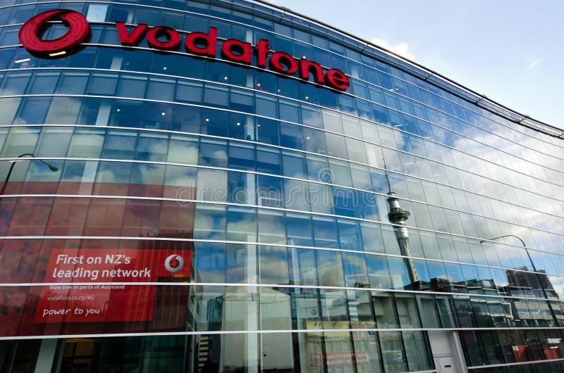 Vodafone - Nueva Zelanda imagenes de archivo
