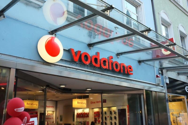 Vodaphonewinkel royalty-vrije stock fotografie