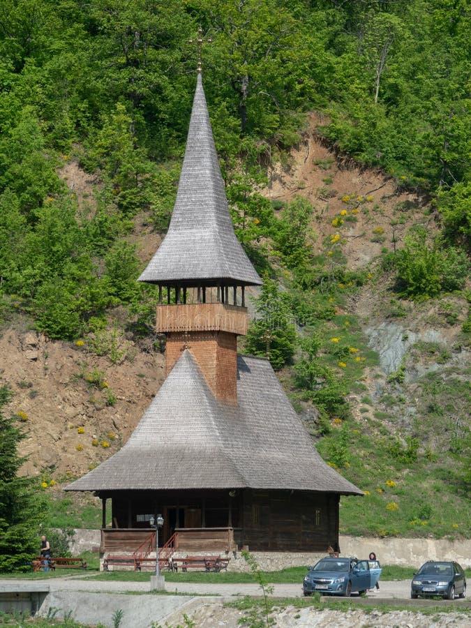 Vodita monastery, Romania stock photography