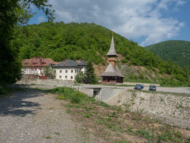 Vodita monastery, Romania royalty free stock image