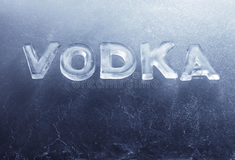 Download Vodka stock photo. Image of russian, written, objects - 23667320