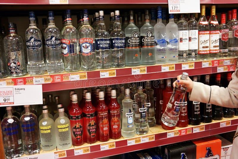vodka immagine stock libera da diritti