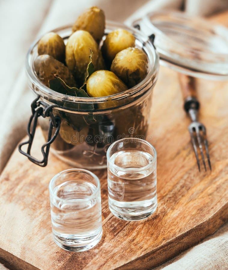 vodka fotografie stock libere da diritti