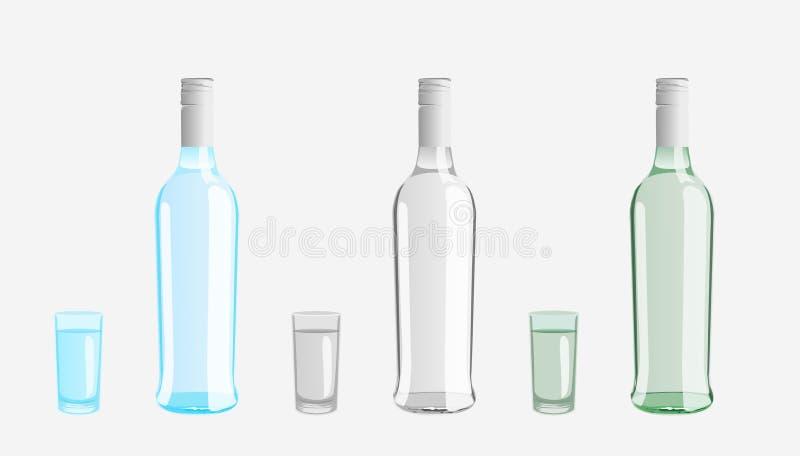 Vodka Bottle Stock Image