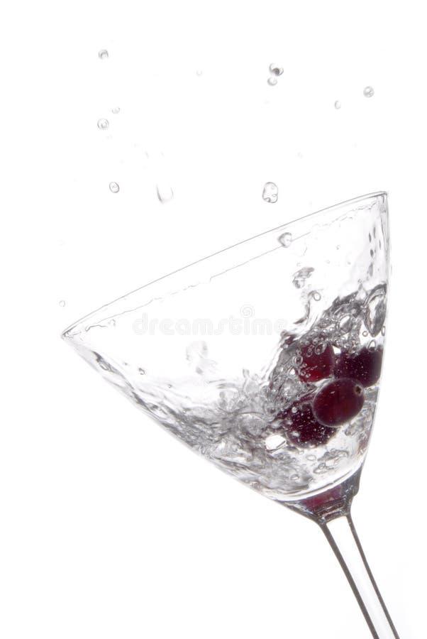 Vodka del mirtillo immagini stock