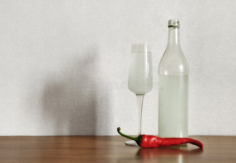 Download Vodka And Pepper Royalty Free Stock Image - Image: 9062266