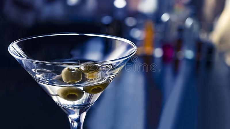Vodkatini, straight up, lemon twist, classy, gypsy queen, tequila, simple, wet, french martini, fancy, neat, double. Cocktail vodka martini close up. party in a royalty free stock photos