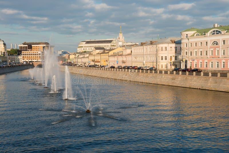 Vodootvodny-Kanal in Moskau, Russland stockbilder