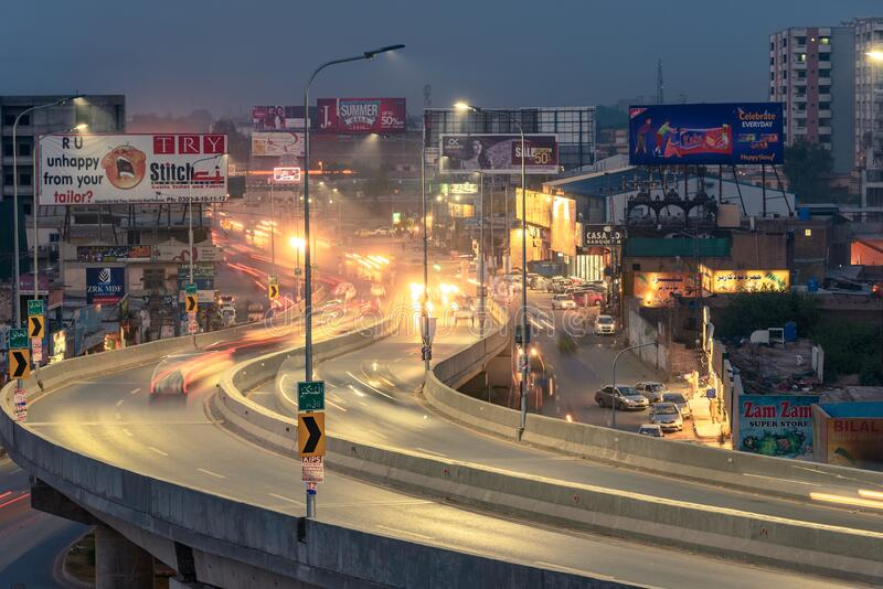 Voe em Peshawar imagem de stock royalty free