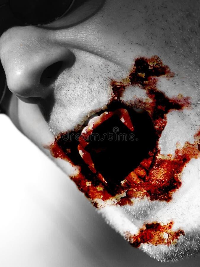 Voedende Vampier royalty-vrije stock foto