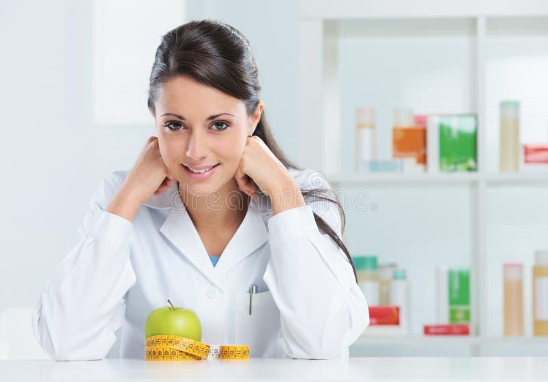 Voedingsdeskundige Arts stock foto's