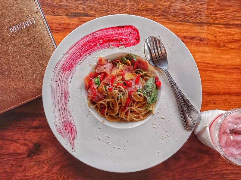 Voedsel & Dranken het Italiaans stock afbeeldingen