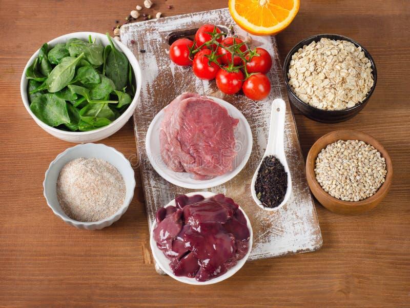 Voedsel Hoog in Fluor royalty-vrije stock foto