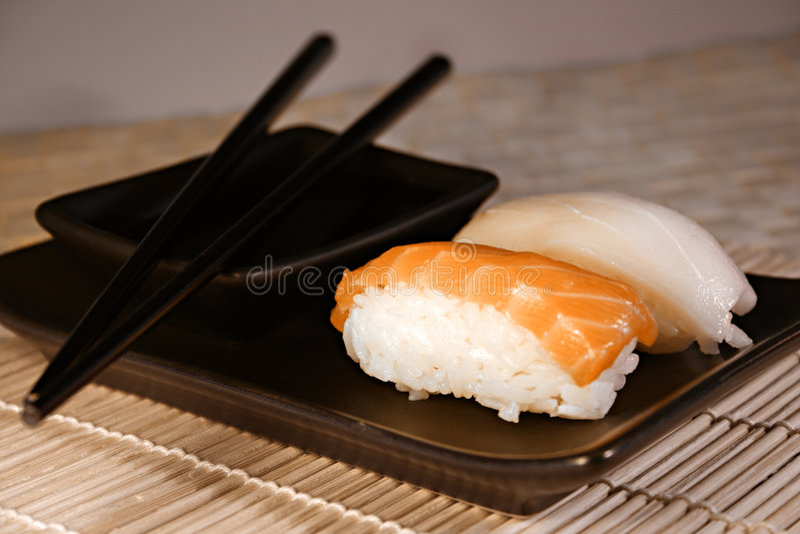 Voedsel: Sushi stock fotografie