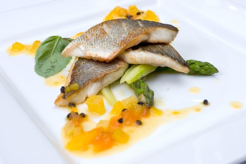 Voedsel van het restaurant royalty-vrije stock fotografie