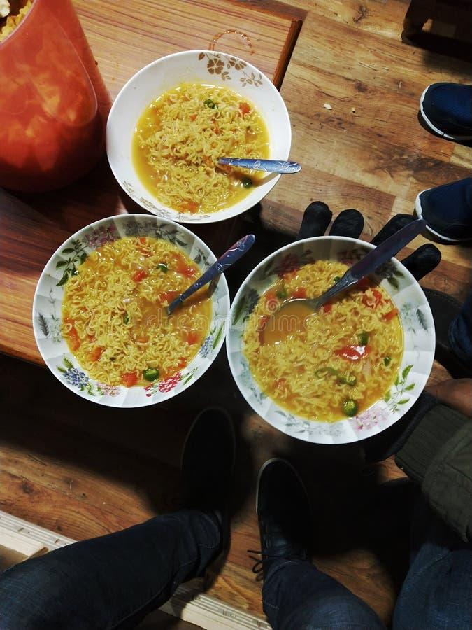Voedsel van Sikkim stock foto