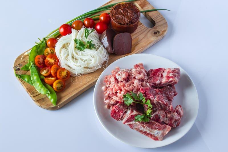 Voedsel van Thailand stock afbeelding