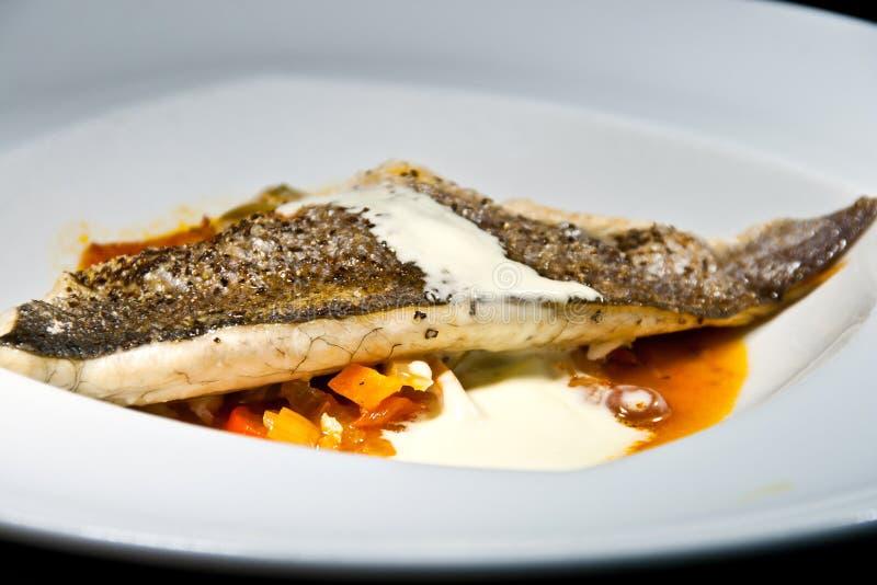 Voedsel van vissen 9 stock afbeelding