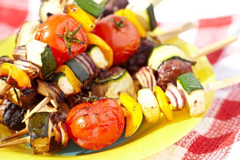 Voedsel voor grill stock foto's