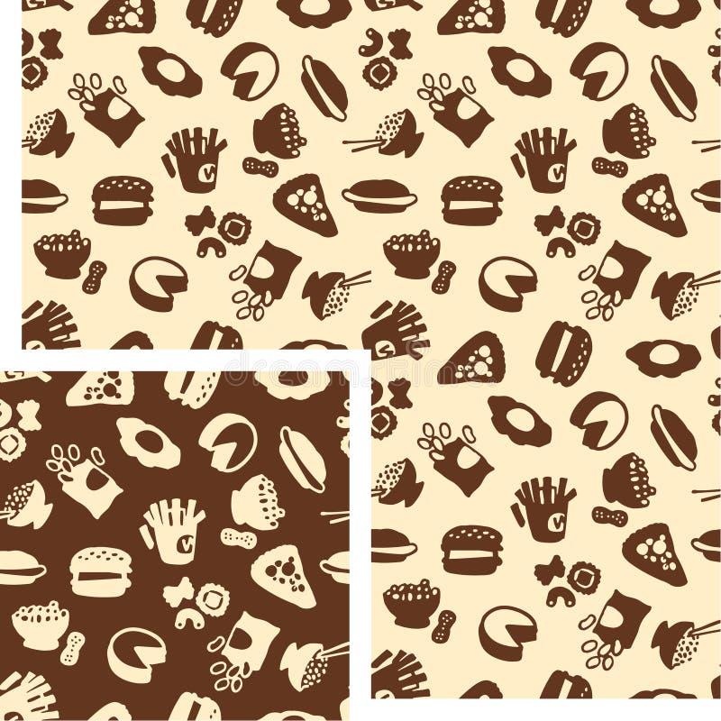 Voedsel - zout stock illustratie