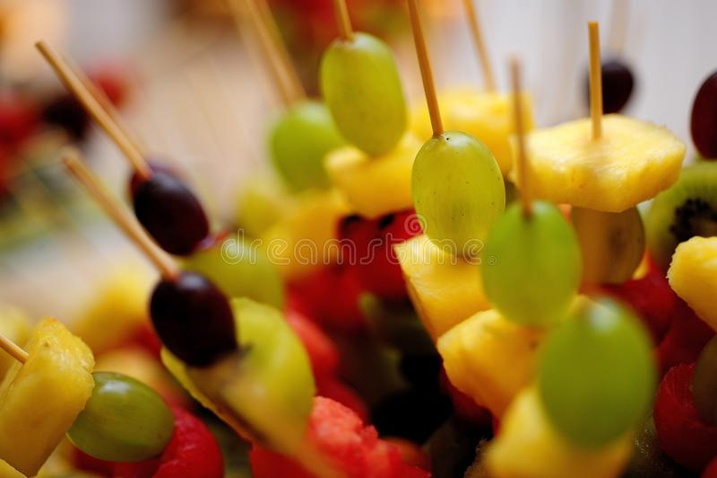 Voedselcatering royalty-vrije stock foto's