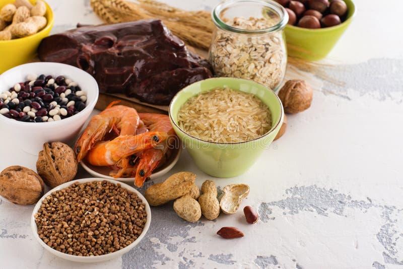 Voedselrijken van kopermineraal stock foto