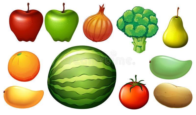 Voedzaam voedsel vector illustratie