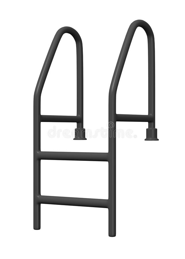 Voeg ladder samen vector illustratie