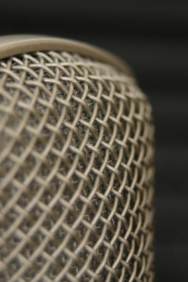 Voer aan mic op stock afbeeldingen